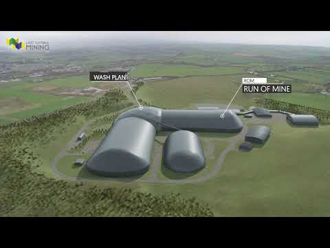 West Cumbria Mining - Coal Mining 3D animation