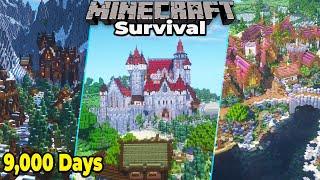 9,000 DAYS of Minecraft Survival : Minecraft 1.16 Survival World Tour