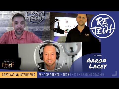 Aaron Lacey  - Psychology Driven Digital Marketing Strategies and Techniques | RE vs. TECH | Ep#80
