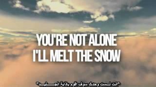 Shayne Ward - Melt The Snow [Lyrics on Screen] M