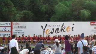 光幼稚園ドレミキッズ ~2016斐川だんだんよさこい祭(いりすの丘)