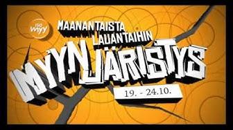 Isomyy - Myynjäristys 2009