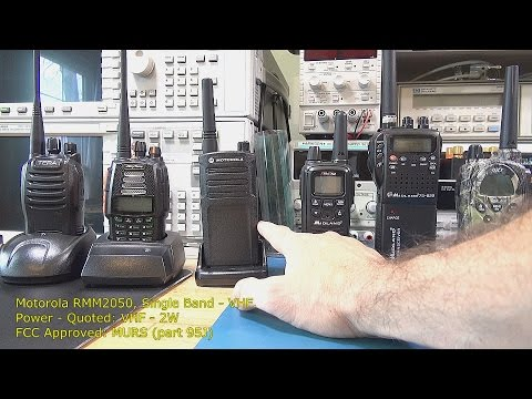 Two Way Radio Review / Range Tests - Part 1