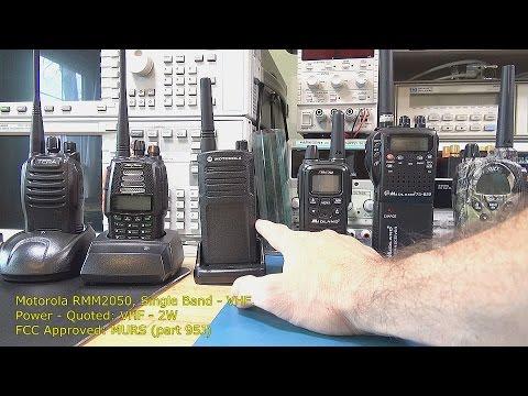 Two Way Radio Review / Range Tests - Part 1