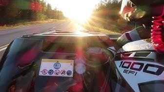 Traktorimönkijä Polaris 60km/h testausta