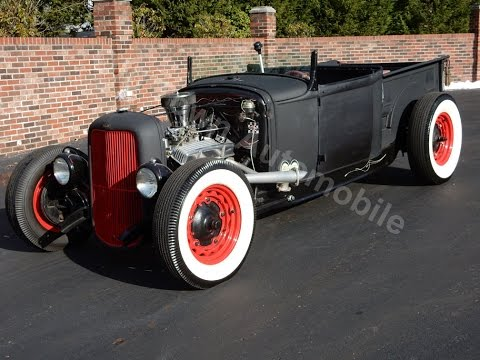 1931 Ford Model A Steel Roadster Pickup for sale Old Town Automobile