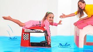Пол это вода - Песня для детей | Детские песни от Майи и Маши