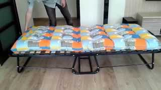 Раскладная кровать Люкс. Обзор раскладушек и раскладных кроватей.