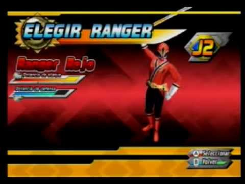 Power Rangers Wii dos jugadores Misin 9 power rangers samurai