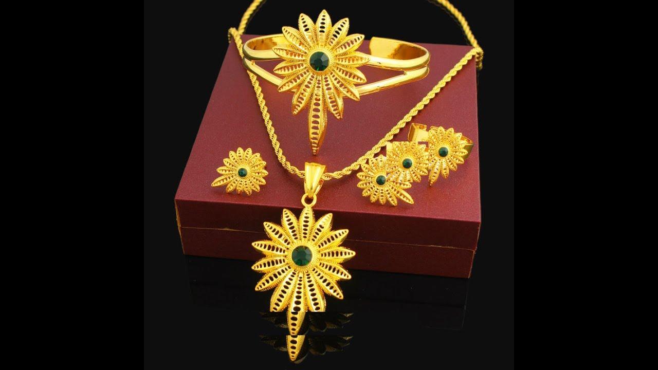 Latest Ethiopian Necklace Pendant Jewelry Designs Trendy