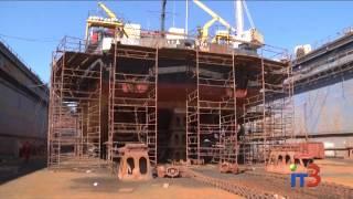 На ИСРЗ производят модернизацию двух судов
