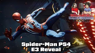 Spider-Man PS4 E3 Gameplay - #CUPodcast