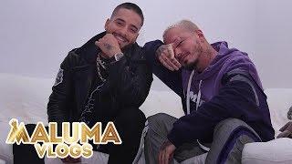 J Balvin y Maluma colaboraran juntos por primera vez | MalumaVlogs
