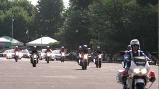 パトカー大行進 警視庁機動隊観閲式 review of Tokyo M.P.D. riot police 2012