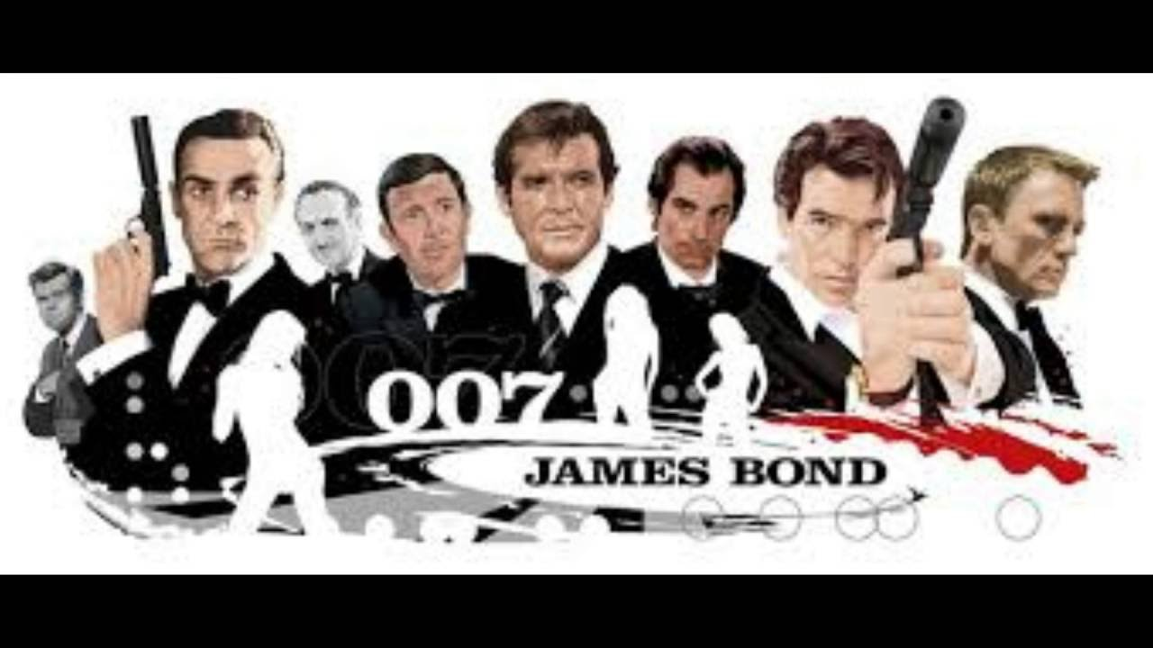 8 james bond 007 actors in 53 years youtube. Black Bedroom Furniture Sets. Home Design Ideas