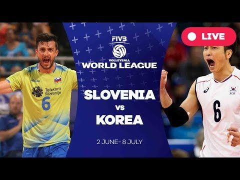 Slovenia v Korea - Group 2: 2017 FIVB Volleyball World League