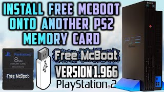 PS2 Install Free MCBoot Onto Memory Card! (Version 1.966) 2019!
