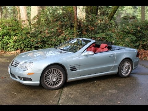 2004 mercedes benz sl55 amg for sale 43 000 youtube for Mercedes benz sl55 amg