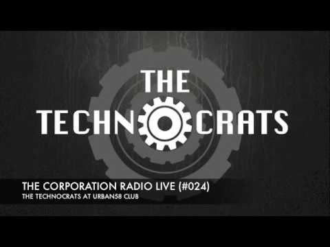 THE CORPORATION RADIO LIVE #024 (URBAN58 CLUB) / TECHNO LIVE DJ SET