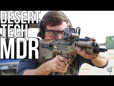 Desert Tech MDR UPDATED VIDEO (Halo Battle Rifle? Probably)