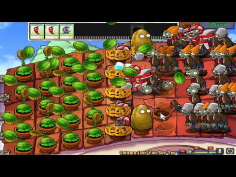 Plants vs. Zombies | Mini Games: Column like you see em