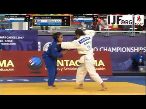 JUDO World championship  Chile 2017.