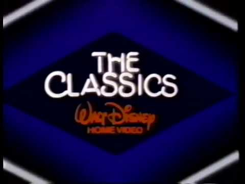Walt disney home video the classics 1985 company logo for The classic home company