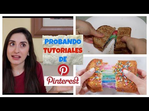 FAIL!! PROBANDO TUTORIALES DE PINTEREST