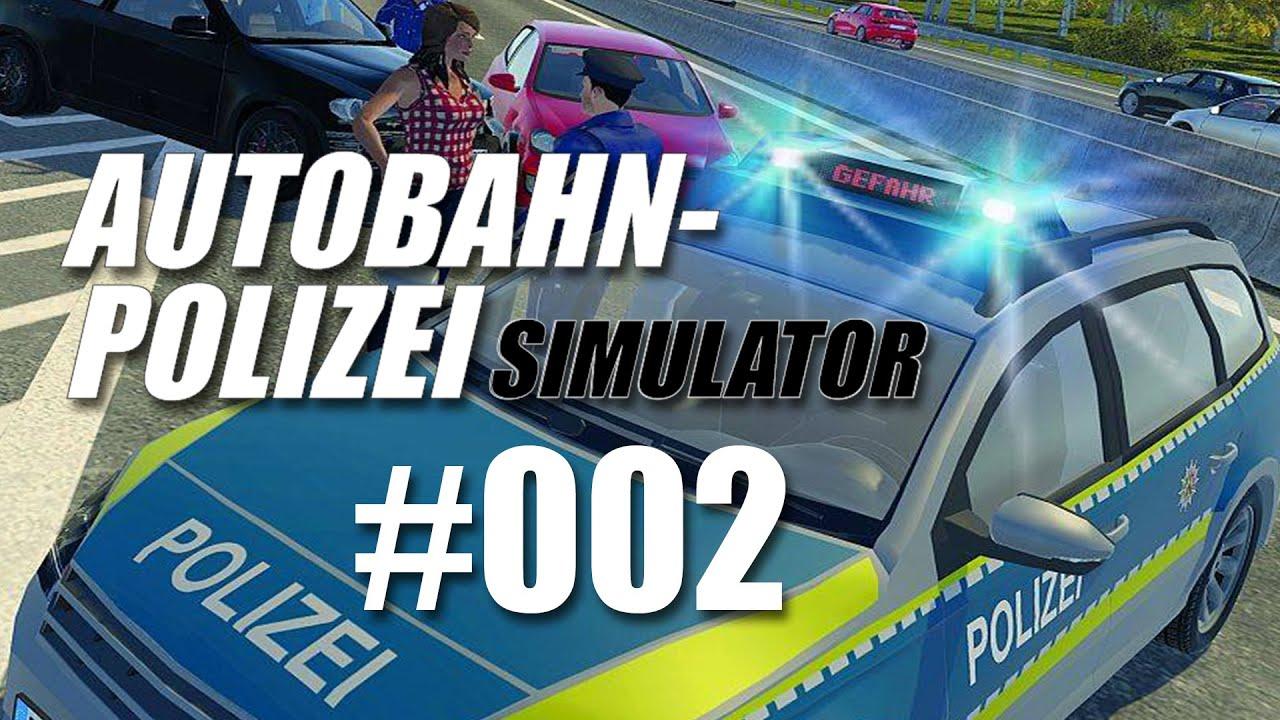 Autobahnpolizei-Simulator #002 - Unfälle! - YouTube