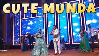 CUTE MUNDA| SHARRY MANN| COUPLE DANCE| WEDDING CHOREOGRAPHY| PUNJABI STYLE| BOLLY GARAGE