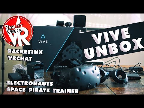 CELEBRATING ALL THINGS VR! | HTC VIVE UNBOX & GAMEPLAY 2018