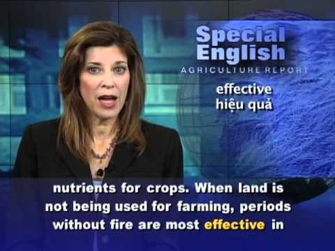 Phát âm chuẩn cùng VOA - Anh ngữ đặc biệt: Lessons from Ancient Farmers (VOA)