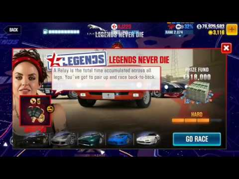 CSR 2 Legends | LEGENDS NEVER DIE Finale!! (Race 80) Gameplay!