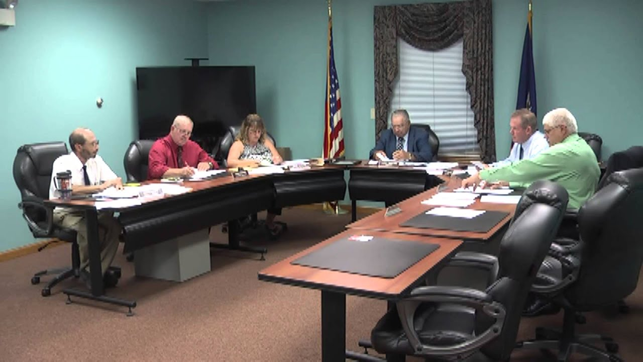 Champlain Town Board Meeting  9-8-15