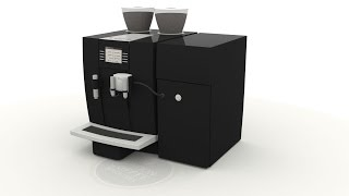 Jura Giga X8c Coffee Machine Cleaning Guide