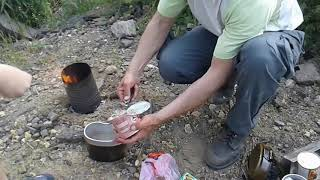 Походная печка своими руками. Поход. Детские походы Воспитание детей.