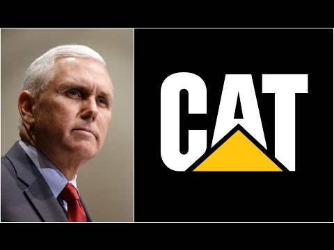 LIVE: Vice President Mike Pence Speaks at Fabick Caterpillar Inc. Headquarters