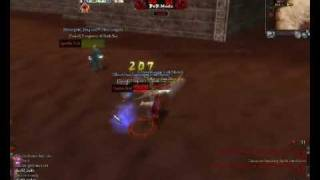 9Dragons 1shao healer vs BOT warrior :D