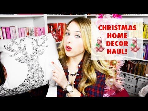 Christmas Home Decor Haul | Pier One, Target, Home Goods!