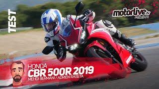 HONDA CBR500R 2019 I TEST MOTORLIVE