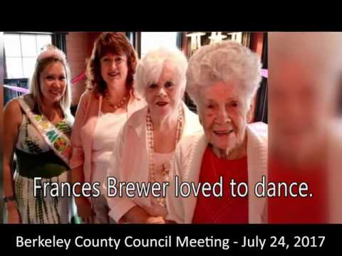 Berkeley County Council Meeting - 7-24-2017