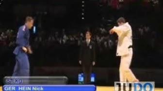JUDO 2009 World Cup Birmingham: Nick Hein (GER) - Gary Hall (GBR)