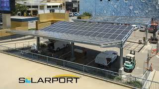 SOLARPORT SOLARCARPARKS COWBOYS LEAGUES QLD INSTALL