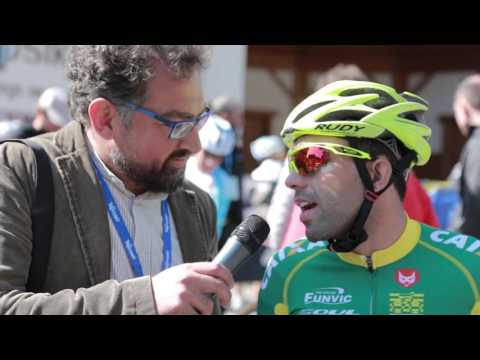 40th Giro del Trentino Melinda: Brazil Team's Nazareth Magno before stage-3