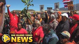 Kupuna Decry Governor's Emergency Proclamation - Mauna Kea Day 4 (July 18, 2019)