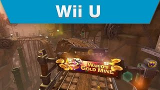 Wii U - Mario Kart 8 DLC Pack 1 Wario's Gold Mine Trailer