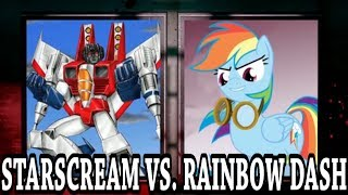 Blind Commentary - DEATH BATTLE: Starscream VS. Rainbow Dash