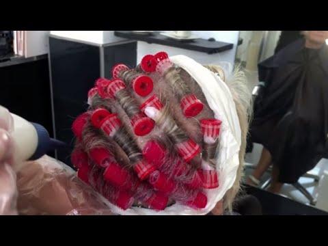 Body Wave Hair Perm Short Hair Step By Step