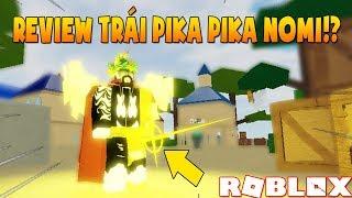 Roblox - Review Trái Pika Pika Nomi Trong Game | Ro-Piece