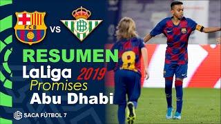 Resumen Barcelona vs Real Betis LaLiga Promises Abu Dhabi 2019
